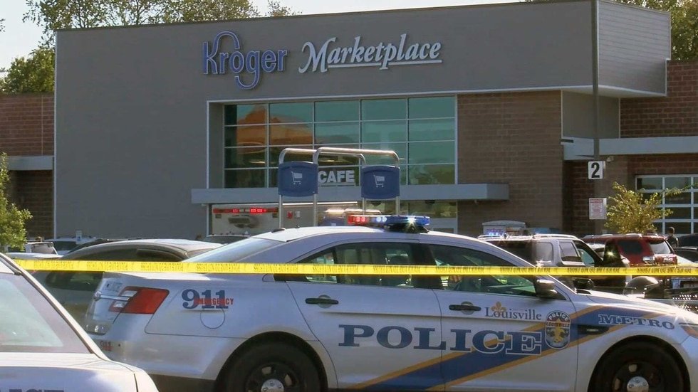 Two people died in the October 24 shooting at the Kroger located at 9080 Taylorsville Road in...