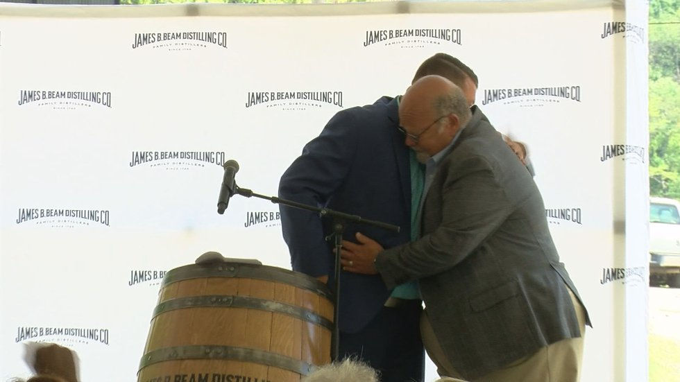 Freddie Noe announced that the new distillery will be named after his dad, (Source: WAVE 3 News)