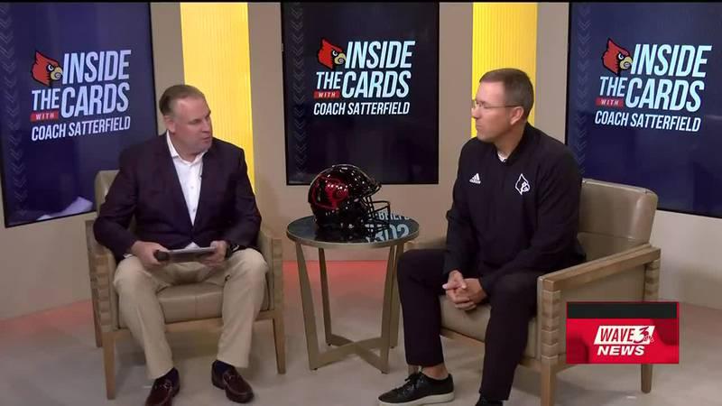 Watch UofL Football Head Coach Scott Satterfield and WAVE 3 News Sports Director Kent Taylor...