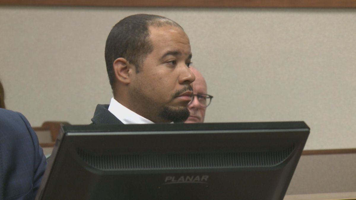 Former LMPD Officer Brandon Wood appeared in court on Thursday