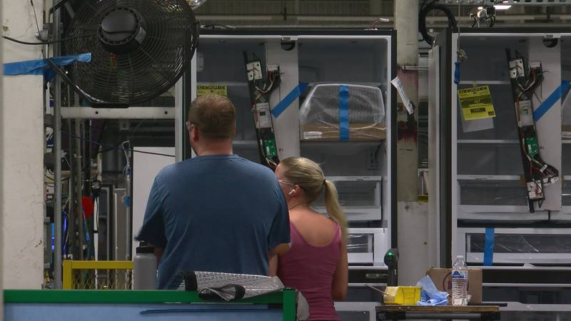 GE Appliances production of four-door refrigerators