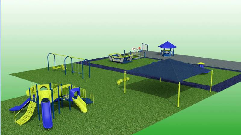 The primary school will use the grant to purchase an Alta Glide, which is a piece of playground...