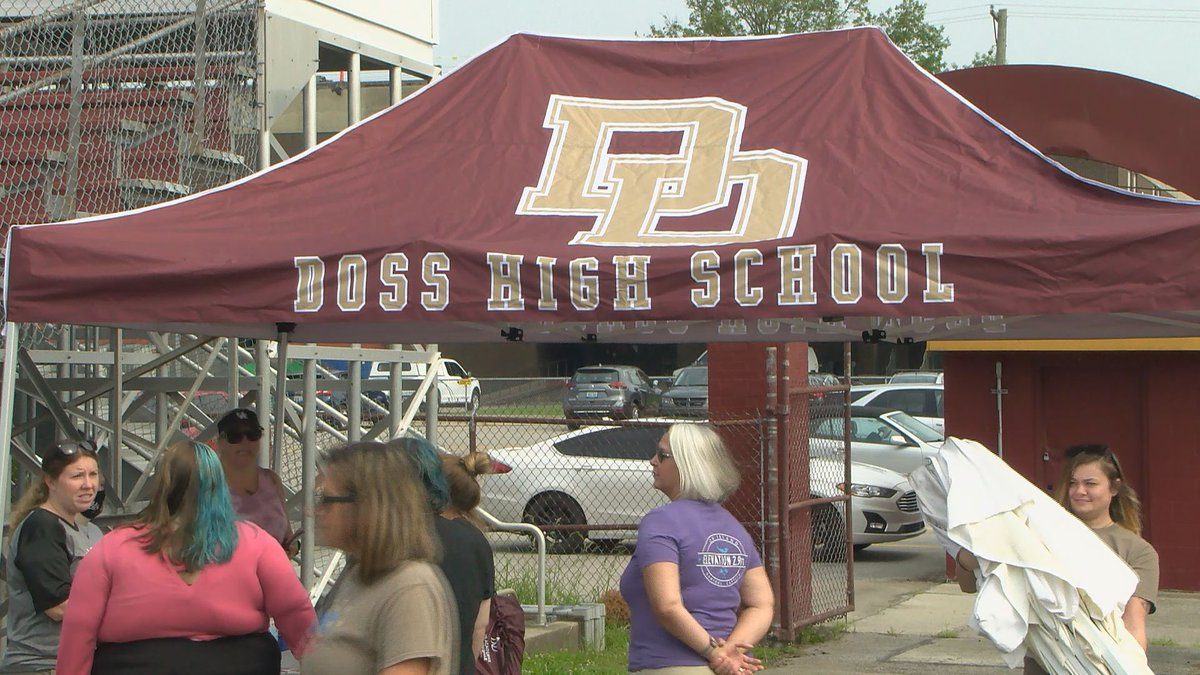 Doss High School held its first ExDRAGONza to help prepare the school community for a return to...