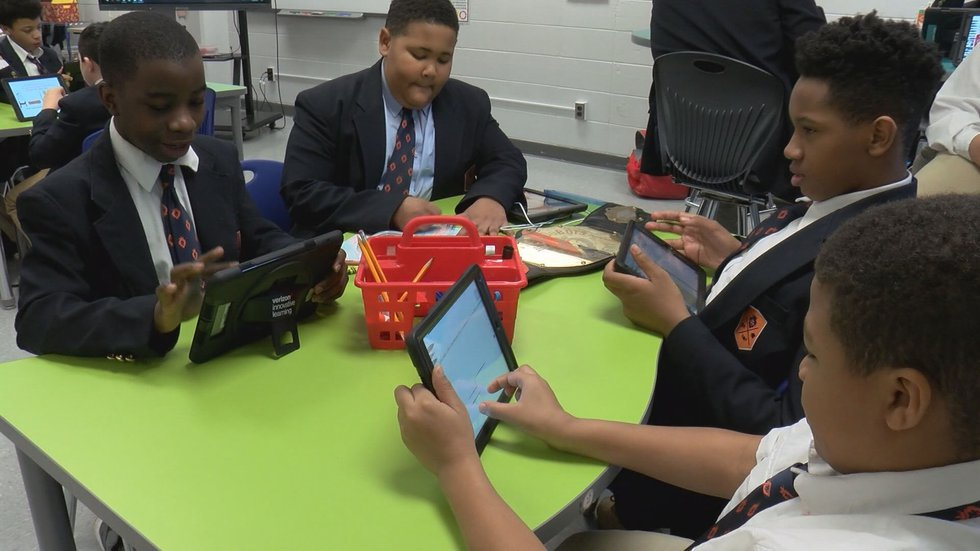 W.E.B. DuBois has been a success in its first year, JCPS officials said. (Source: WAVE 3 News)