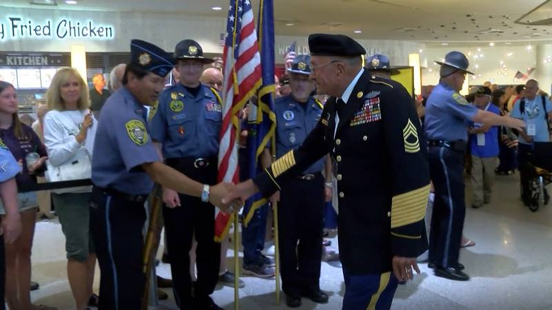 Bluegrass Honor Flight allows veterans to take a free flight to Washington, D.C. and see the...