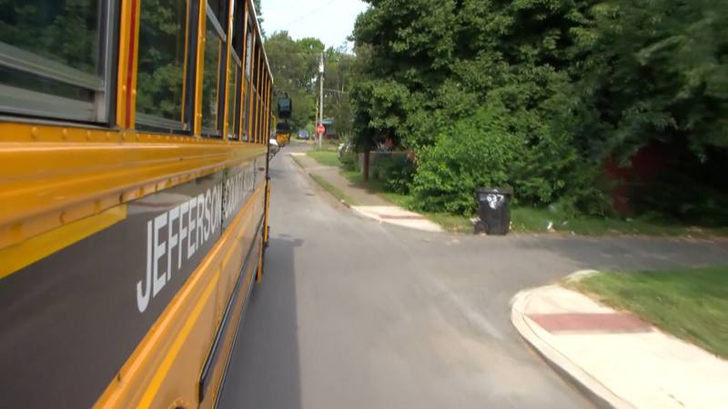 Jefferson County Public Schools is among the districts facing a bus driver shortage.