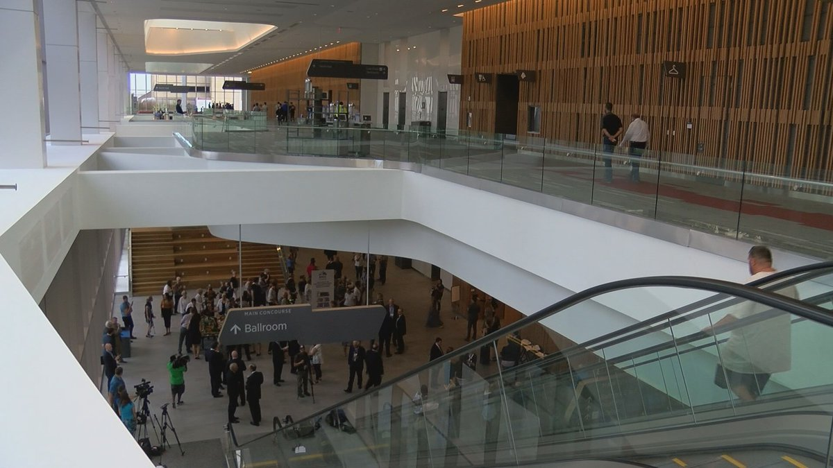 The Kentucky International Convention Center reopened after a $207 million renovation and...