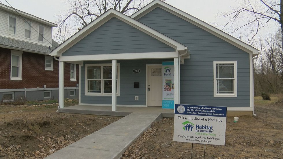 Habitat for Humanity partner families who receive a home must put in 250 hours of sweat equity...