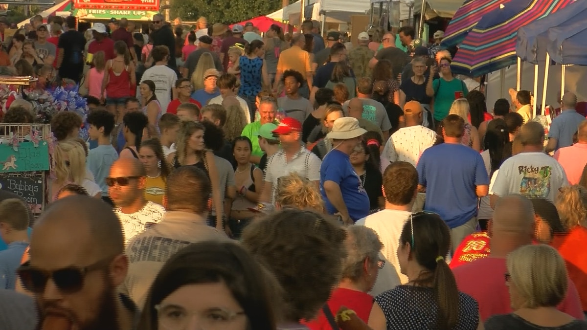 Late summer in Kentucky sees some of the most crowded events in the state -- the Kentucky State...