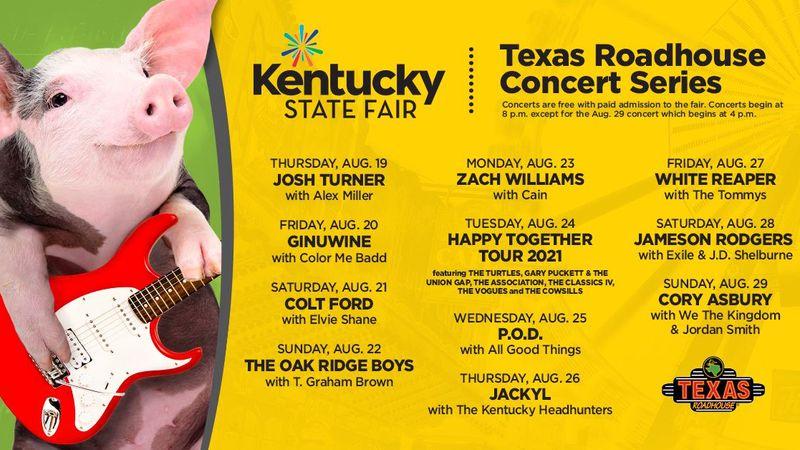 Texas Roadhouse Concert Series 2021