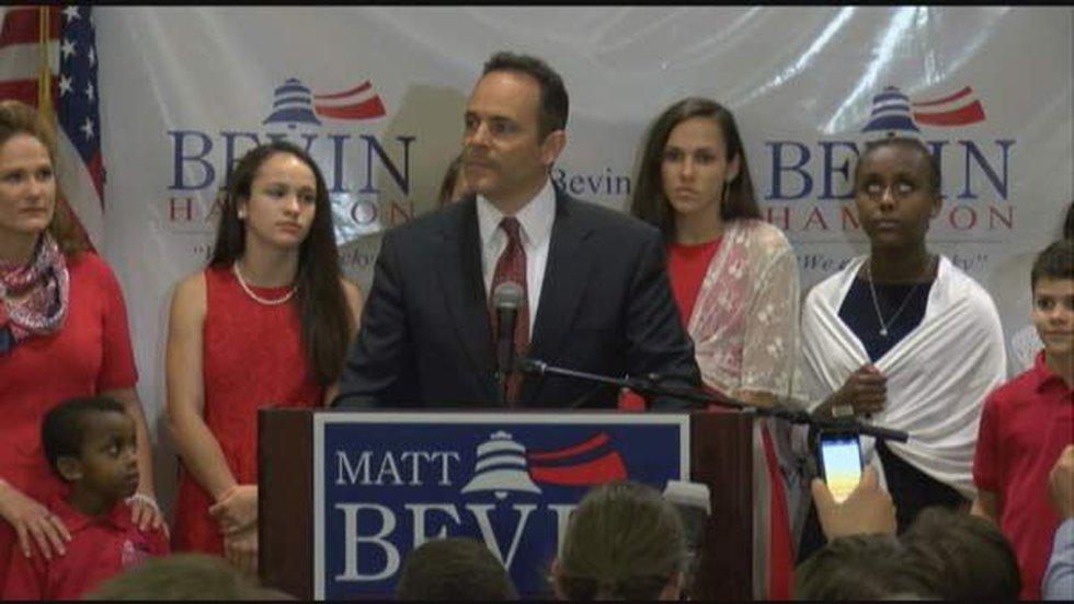 Matt Bevin (Source: WAVE 3 News)