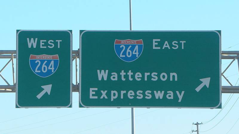 One man was found shot to death after an early morning crash on the Watterson Expressway...