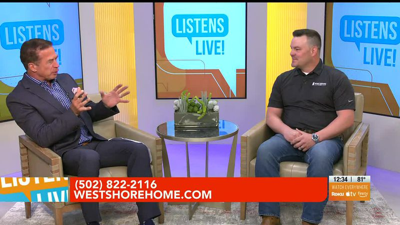 John Ramsey welcomes West Shore Home to the Listens Live! studio.