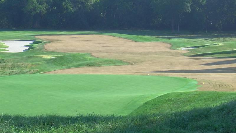 Hole #9 at Valhalla Golf Club