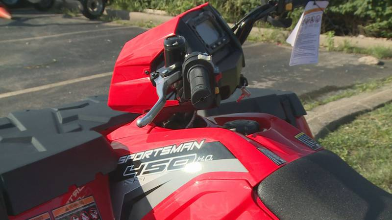 Experts say ATV riders should think first before putting the key into the ignition. (Source:...
