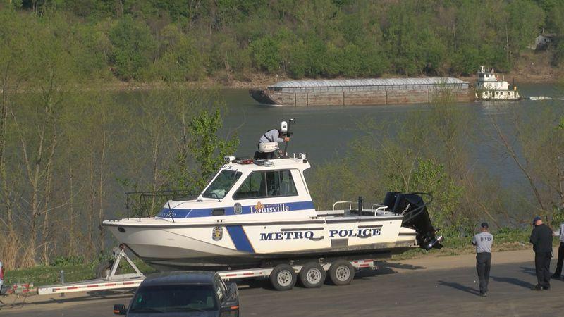 Rescue crews at greenwood docks