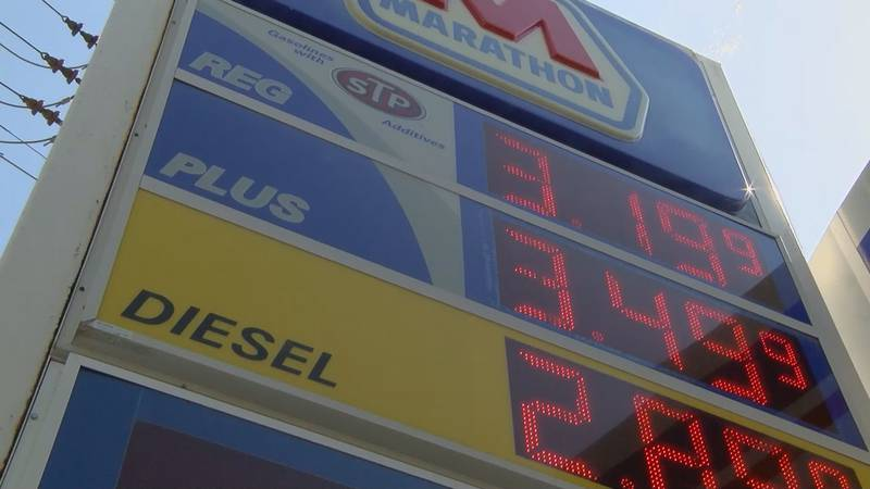 Gas prices increased notably over the last week.