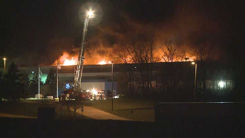 Ford has halted production of its F-150 trucks after a massive fire at a supplier in Michigan....