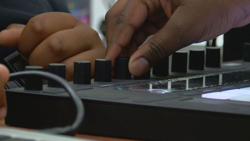 The class just finished writing a song called California Love. (Source: WAVE 3 News)