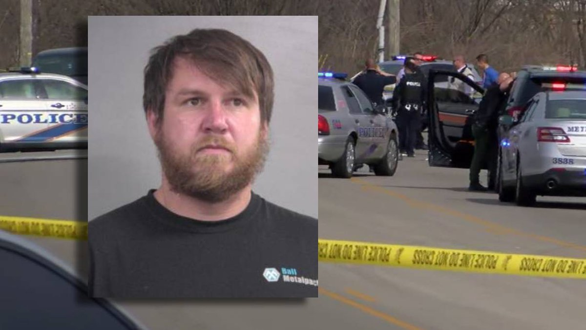 Darrell Browning led LMPD officers on a chase and was shot by an officer Tuesday after...