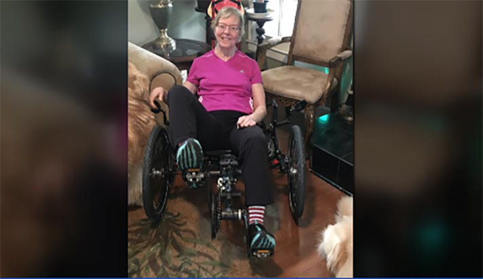 While learning to walk again, Petrina Crabtree underwent months of in-patient physical and...