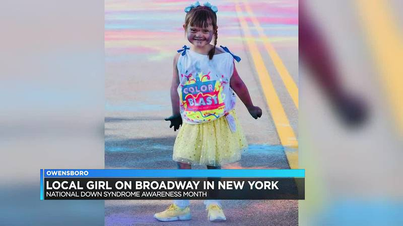 Owensboro girl featured in National Down Syndrome Society video presentation on Times Square