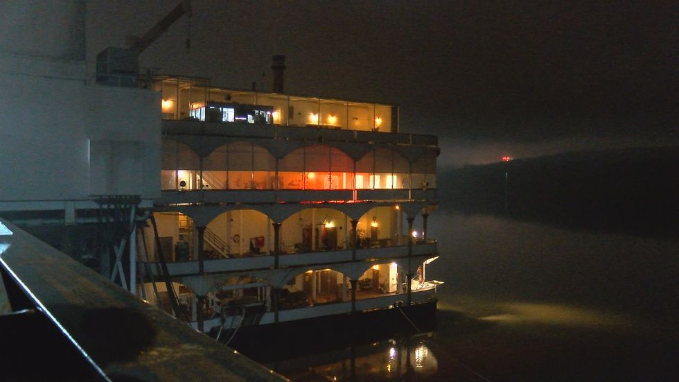 The Glory of Rome, Horseshoe Southern Indiana's riverboat casino, first opened in 1998.