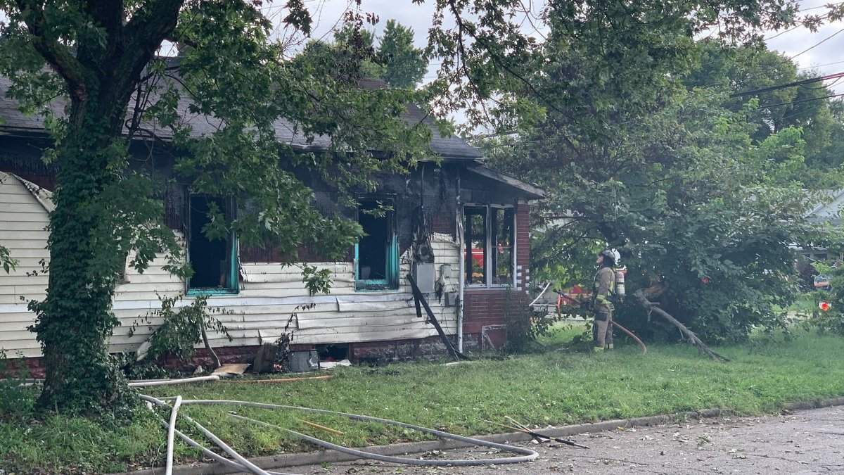 A fire at a house on the corner of Lillian Avenue and Colorado Avenue.
