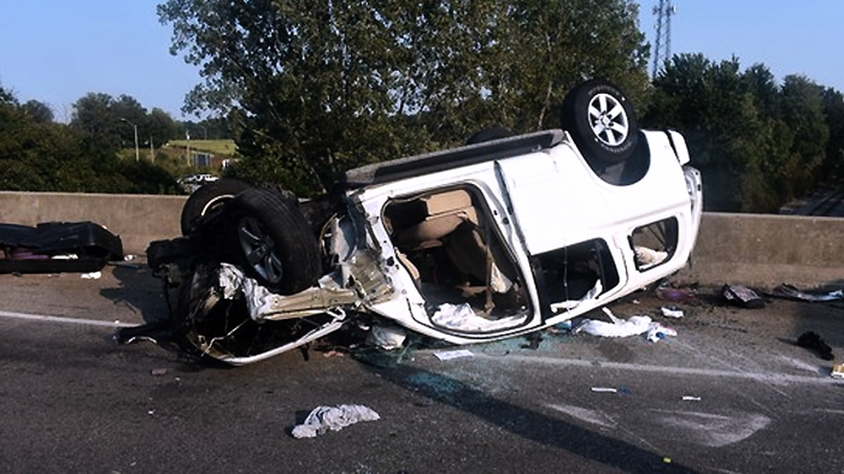 A crash happened on I-65 near the Crothersville exit around 5 p.m. on Sunday, resulting in two...