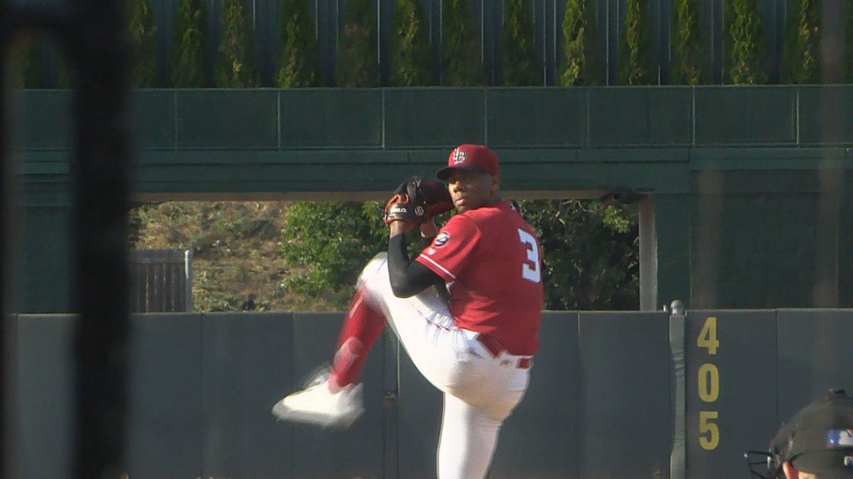 Bats pitcher Hunter Greene