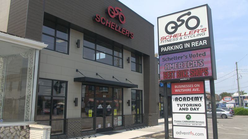 Scheller's Fitness & Cycling opened their new store on Breckenridge Lane, two years after a...