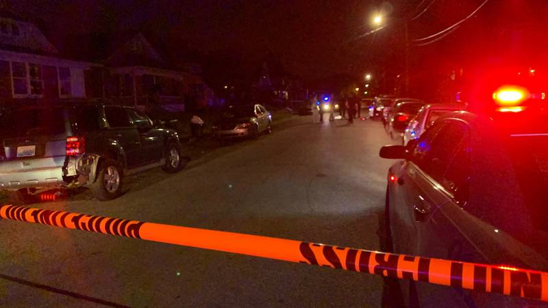 Calls came in around 8:21 p.m. to the 200 block of Cecil Avenue on reports of a shooting.