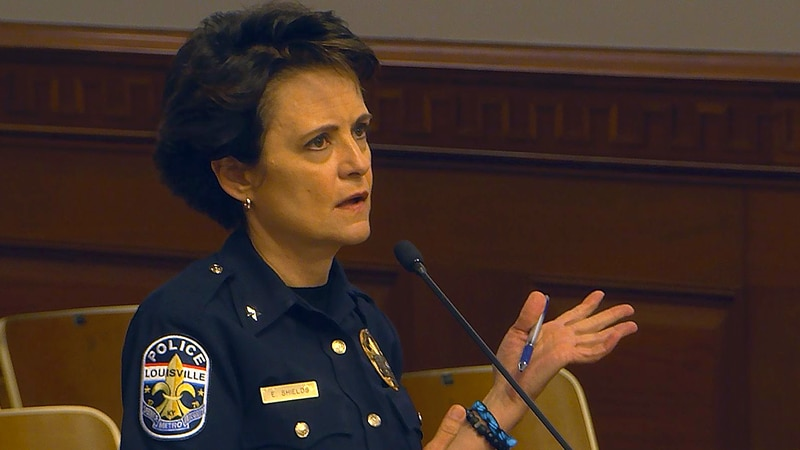 LMPD Chief Erika Shields said many changes have been made in response to the 150-page,...