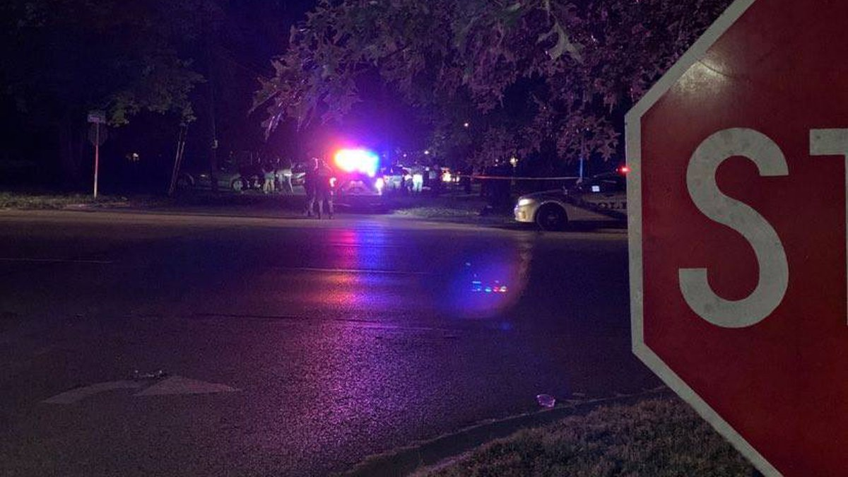Calls came in around 8:37 p.m. to reports of a body found on the intersection of Crums Lane and...