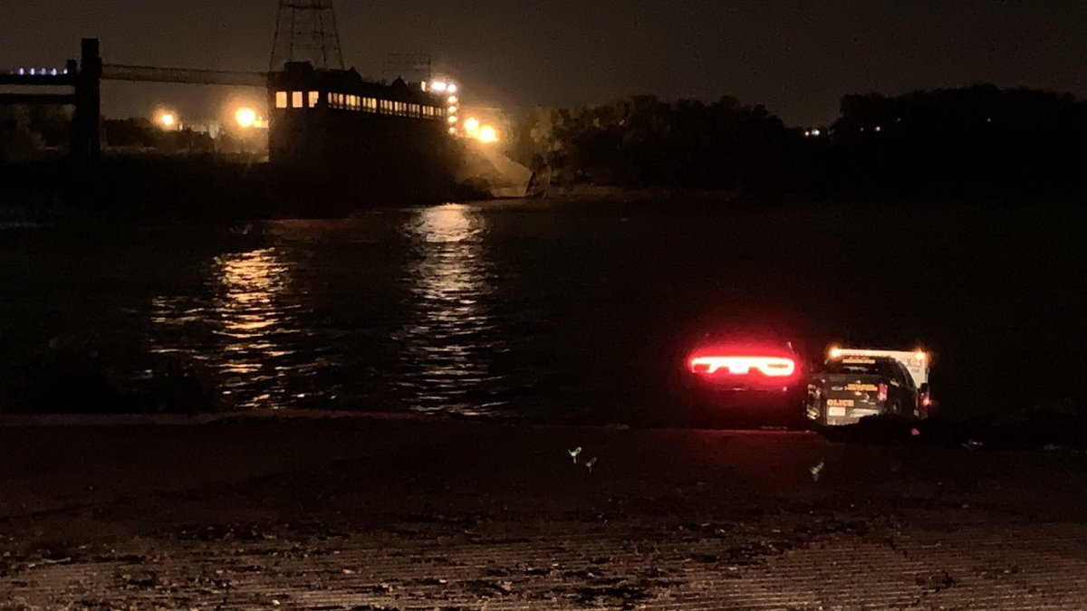 Officials say the call came in around 9 p.m. Saturday night, of kayakers in distress. (Source:...