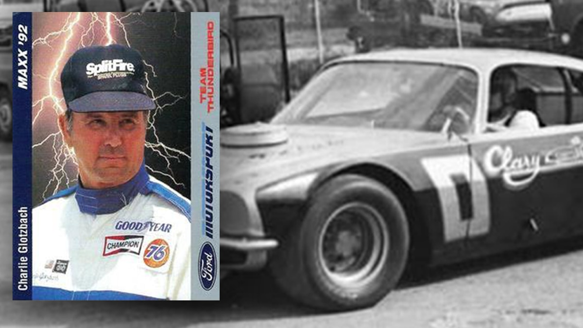 Glotzbach raced in more than 132 NASCAR races.