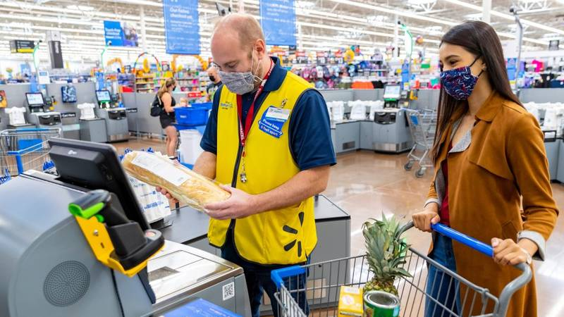 Walmart said it is planning to hire 150,000 new associates for stores across the United States.