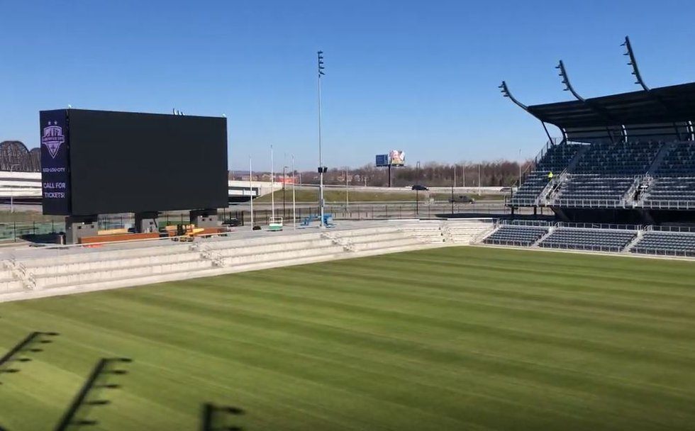 The new field at Lynn Family Stadium ill be a big improvement over Slugger Field, where fans...