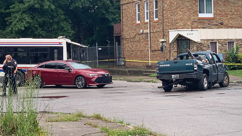 In Park Hill, at least two cars and a TARC bus were involved in a crash killed one person and...
