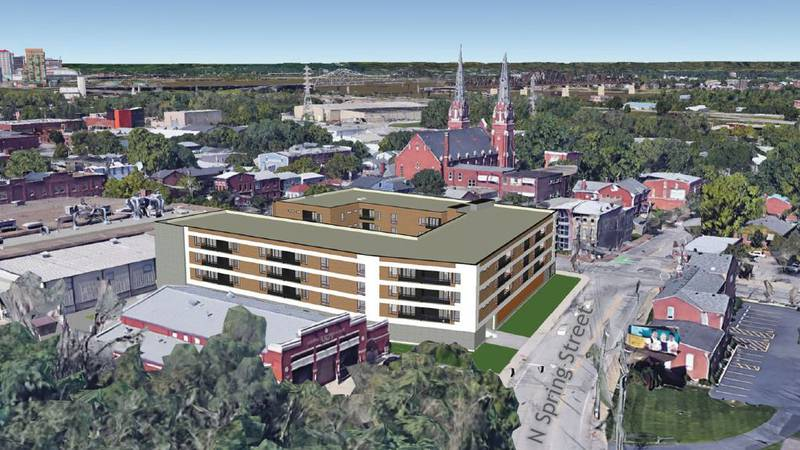 Yet another new apartment complex is about to go up in Louisville.