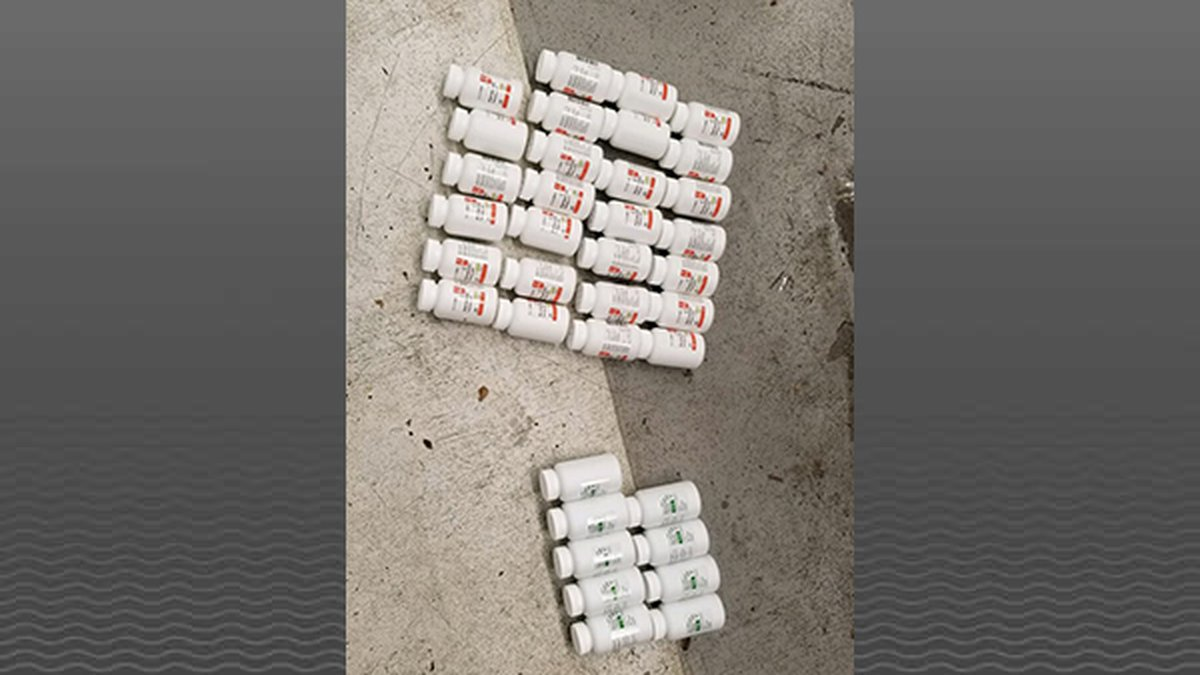 Police discovered around 20,000 Fentanyl pills disguised as Xanax.