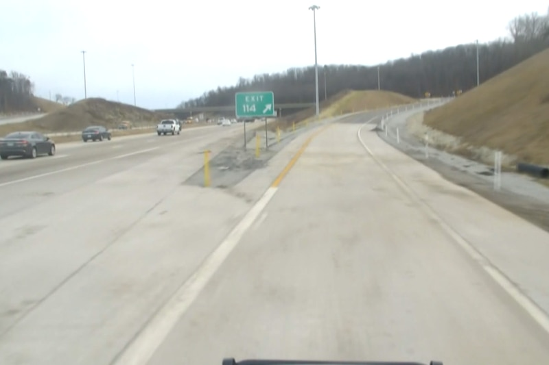 Construction on the interchange began in January 2019 after the $30 million project was awarded...