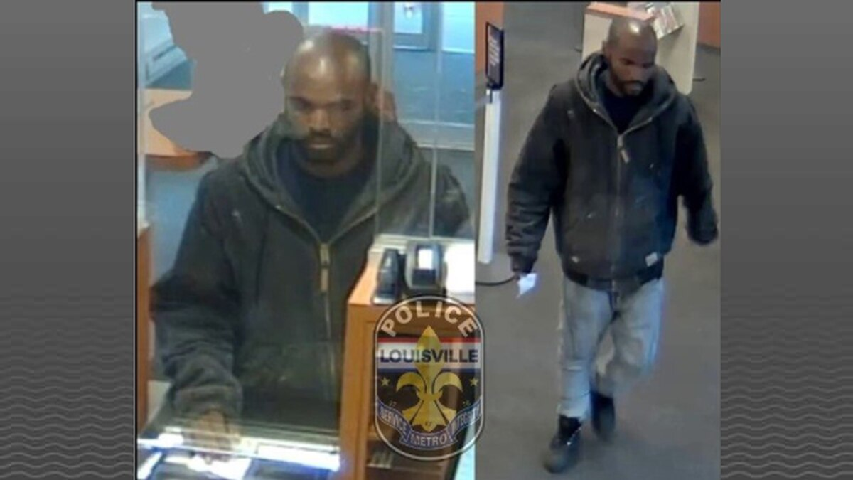 This man is accused of robbing the PNC Bank in the 1200 block of S. 4th Street.