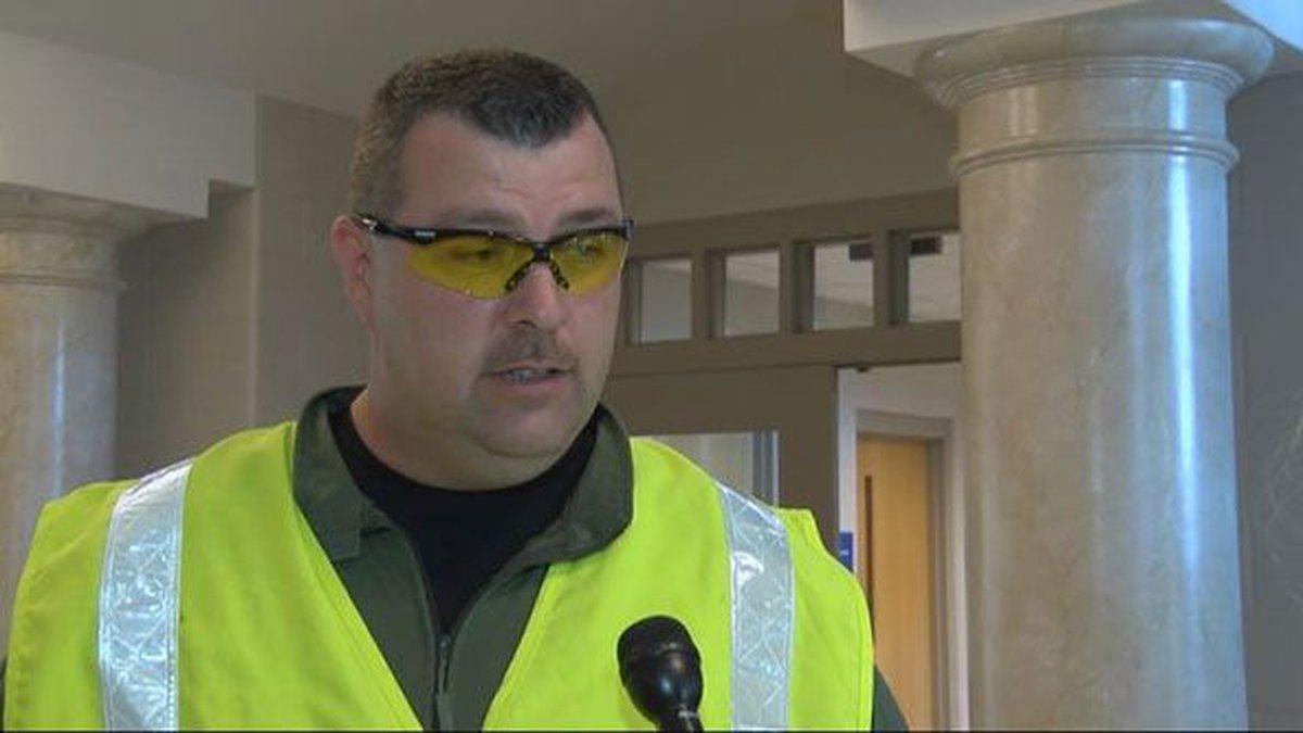 Bullitt County Chief Deputy John Cottrell