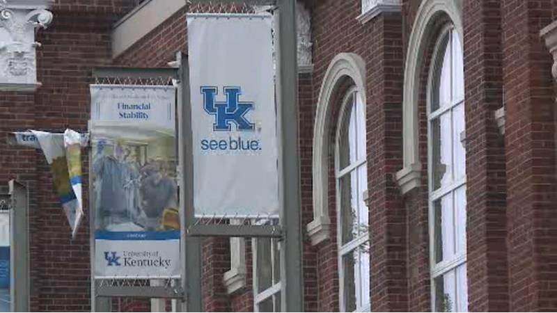 The University of Kentucky announced a $70 million budget shortfall for next year.