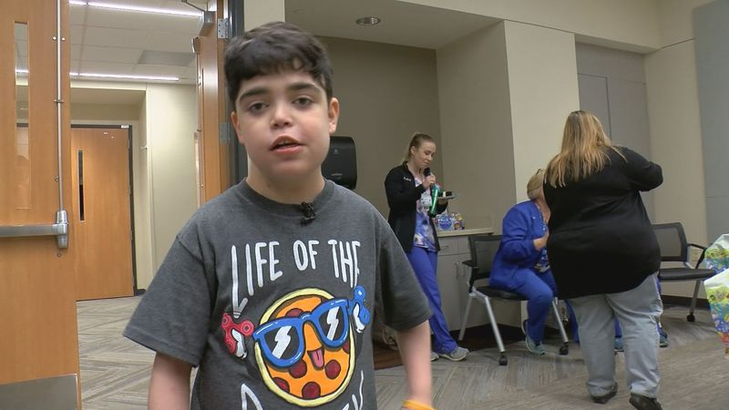 Clay Pendino is finally home after getting a life-saving heart transplant.