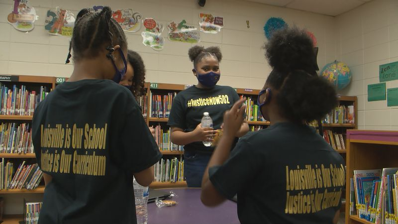 JCPS Students take part in JusticeNow