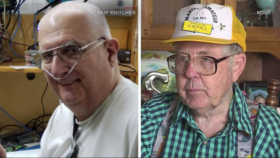 Skip Kritcher is now recovering from a stroke, though he still has impaired vision. He and...