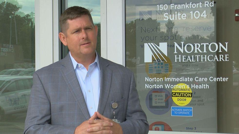 Dr. Joshua Honaker, Norton's Chief Medical Administrative Officer