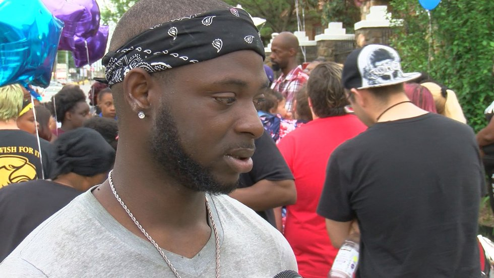 Andre Smith said his brother died because he believed in keeping peace between family. (Source:...